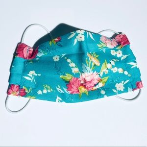 Other - Kids Summer Floral Cloth Reusable Face Mask